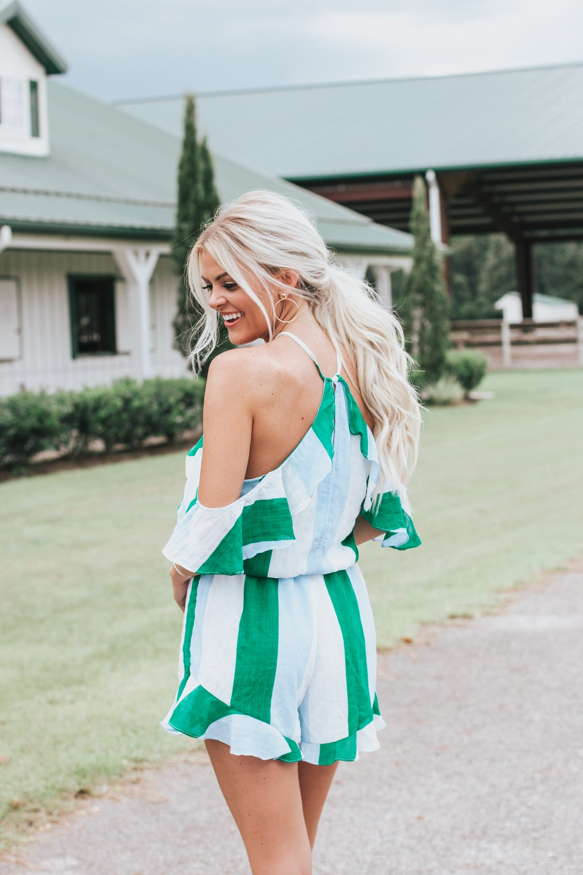 Meet Me In Havana Romper  *FINAL SALE*