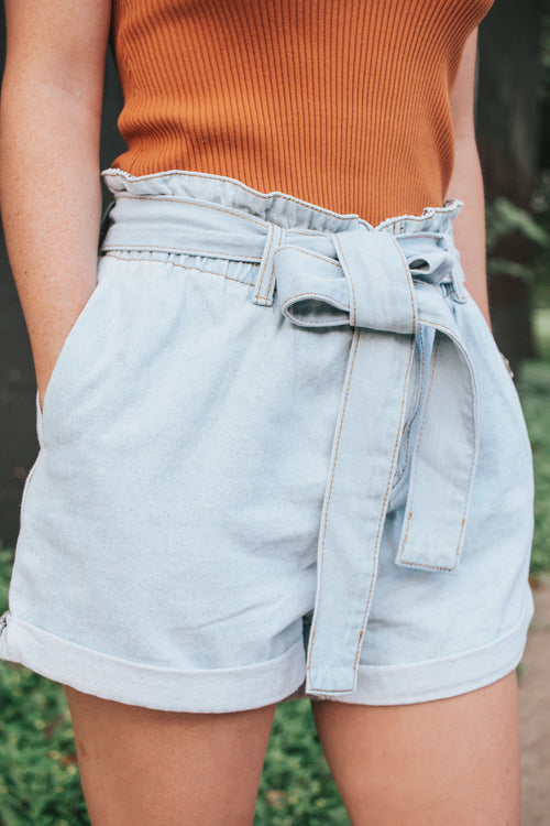 Make Or Break Denim Shorts