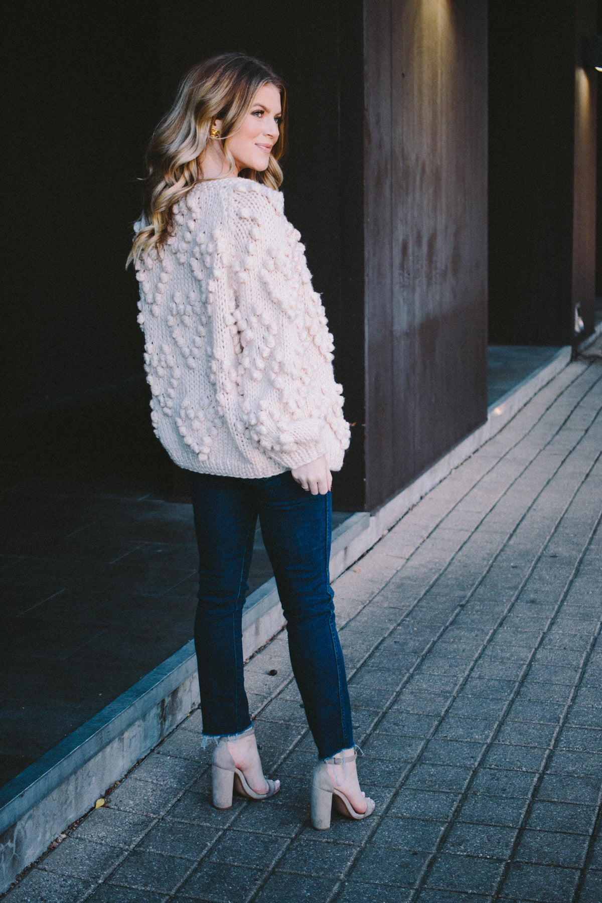 Love You Forever Pom Pom Cardigan