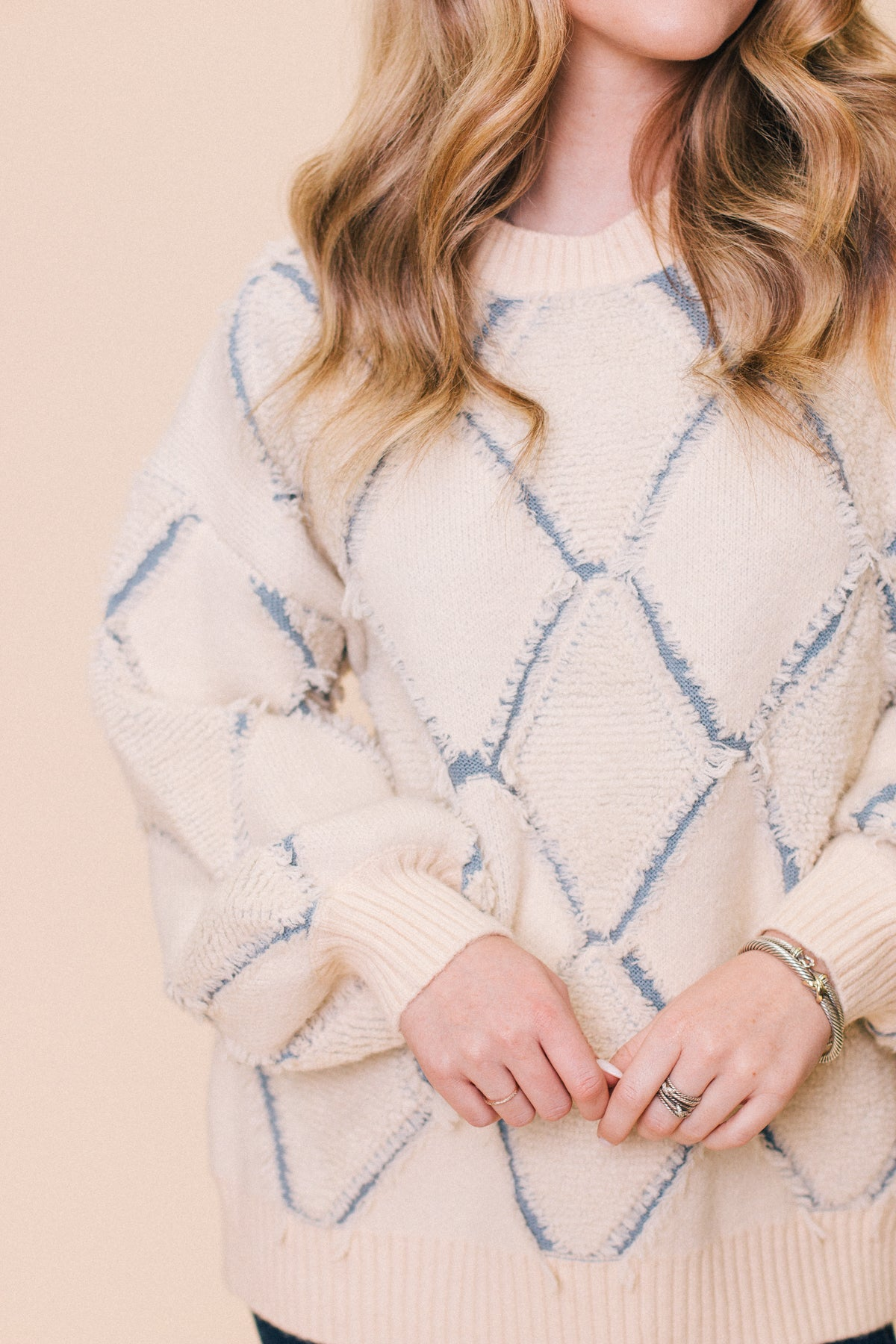Madeline Patterned Sweater