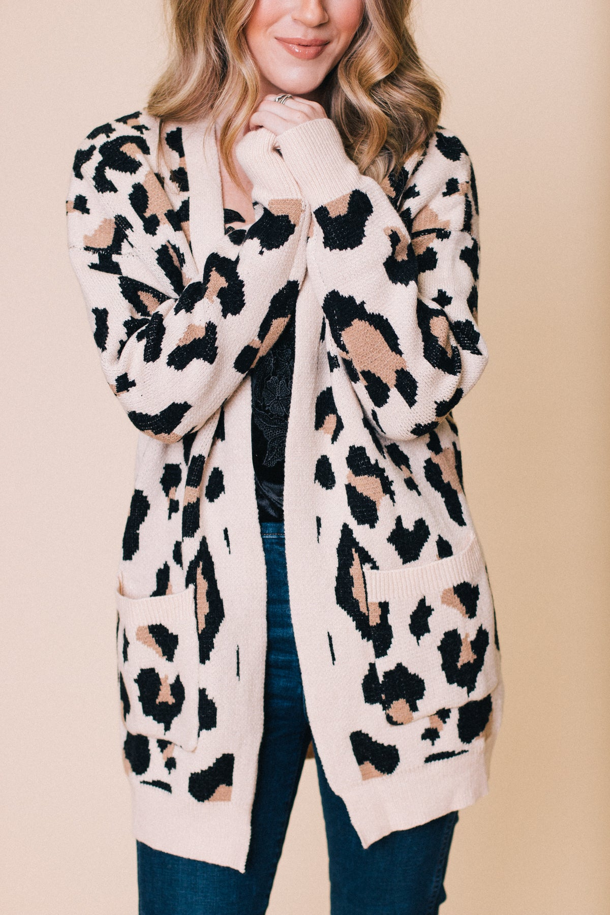 On The Wild Side Leopard Sweater
