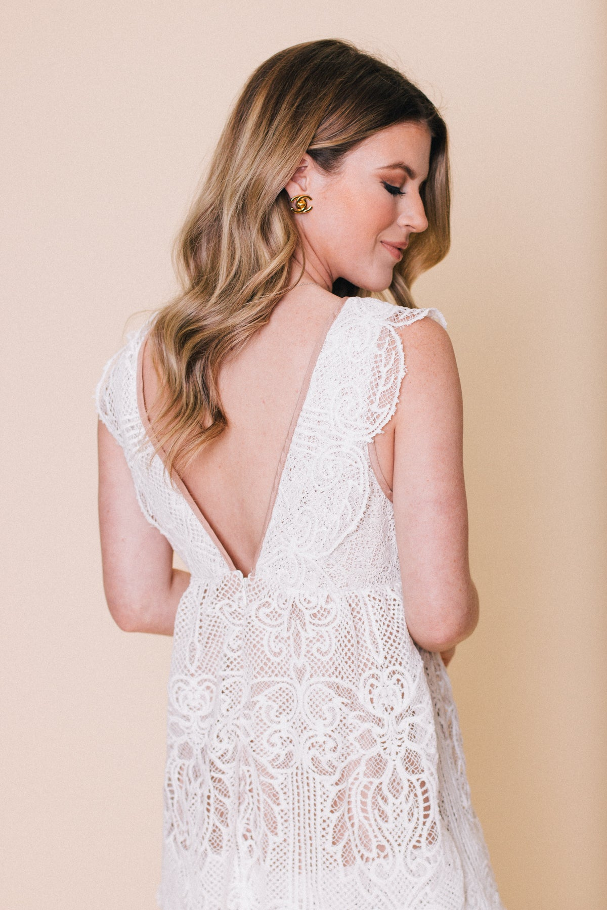 Lost in the Moment Layered Lace Dress