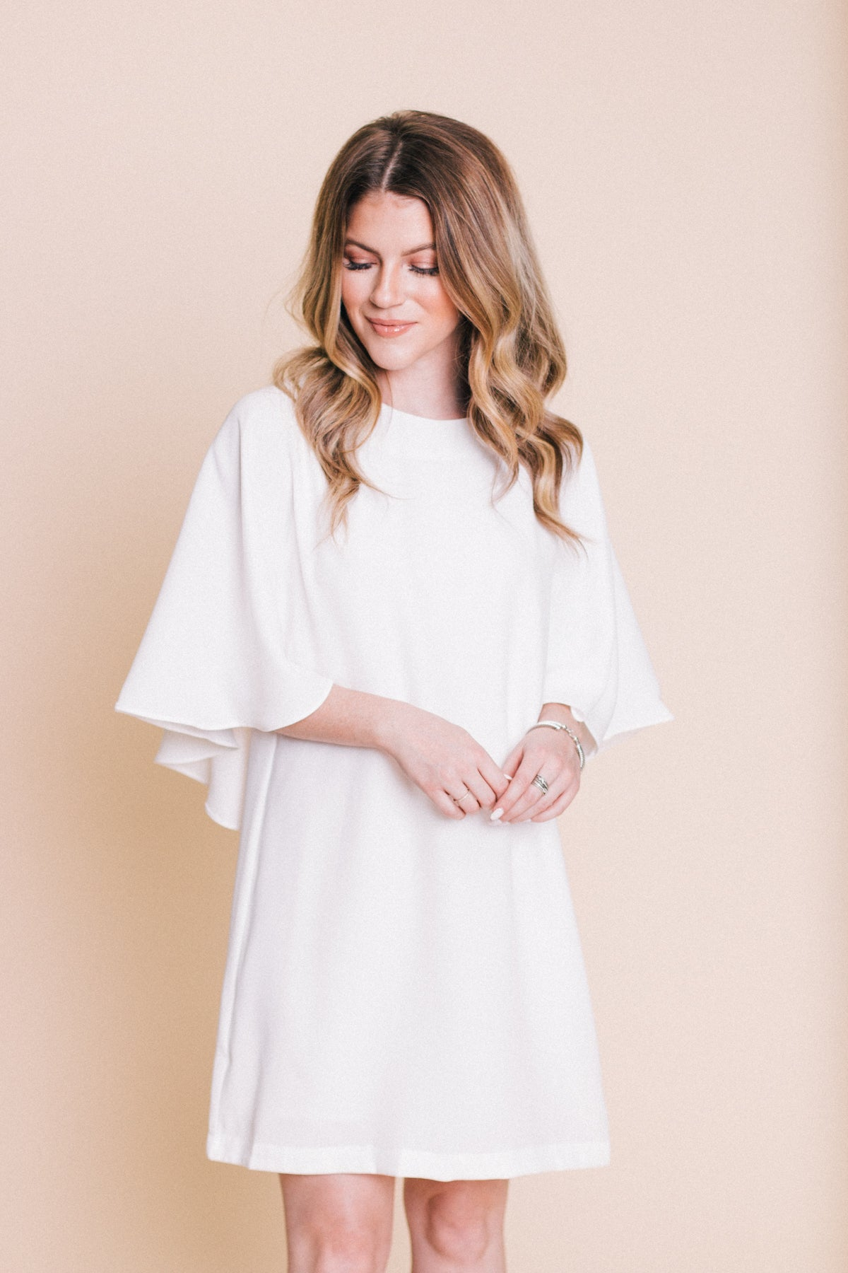 Just Me and You Cape Dress