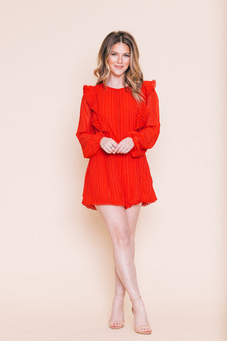 Milano Red Dress  *FINAL SALE*