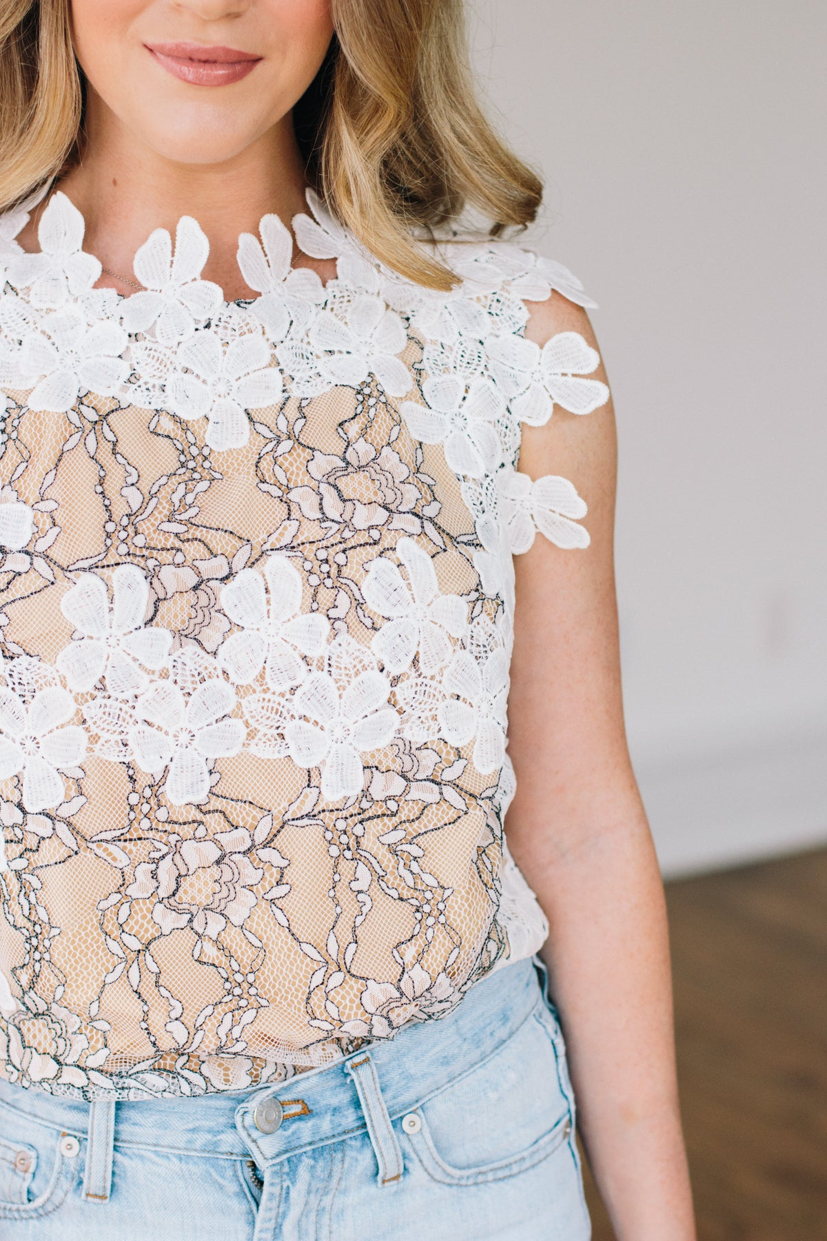 Just Can't Get Enough Lace Top ***PRE-ORDER***
