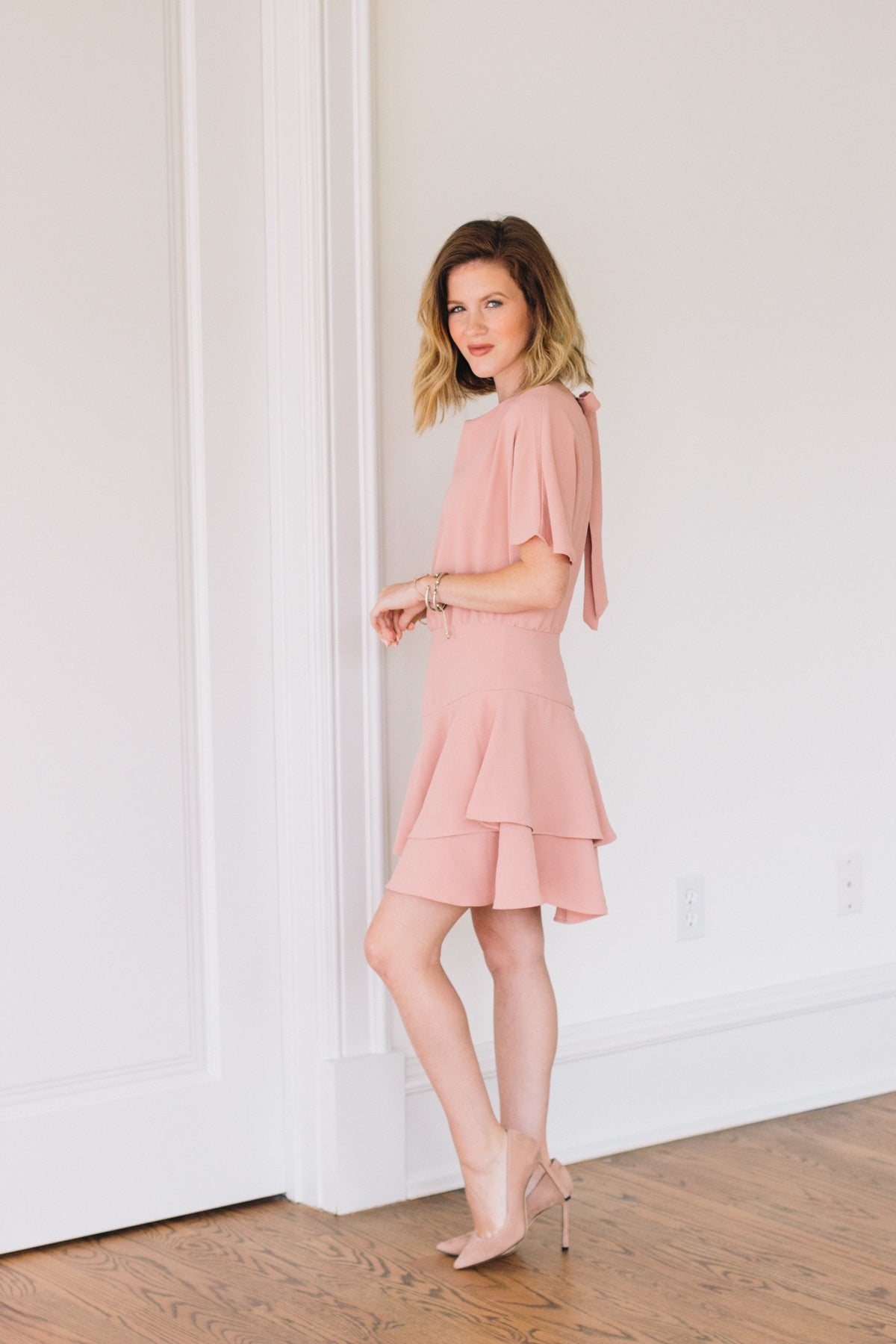 Before I Cry Dress - Blush