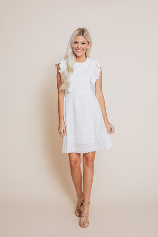 True Love Eyelet Dress