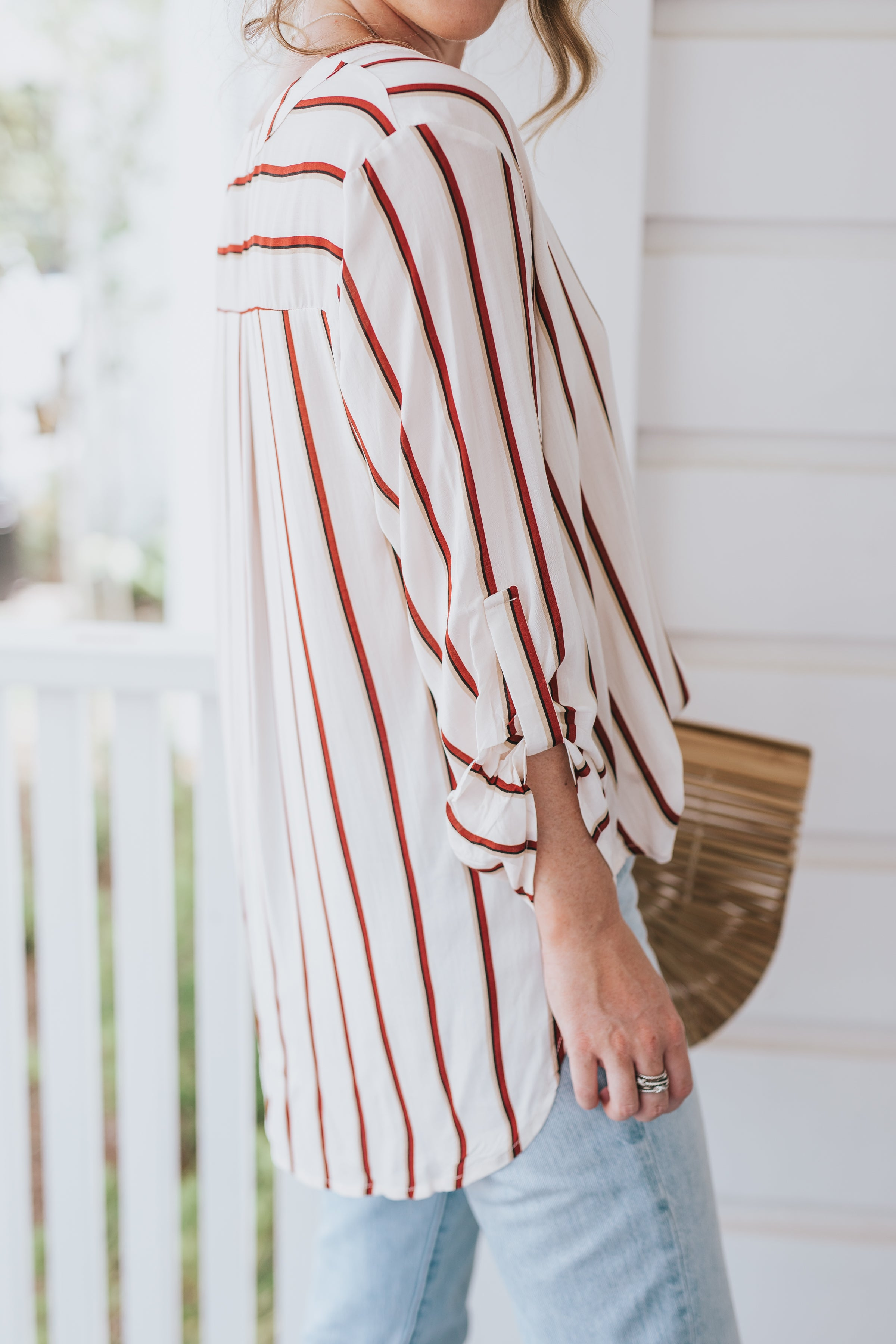 Florence Striped Top