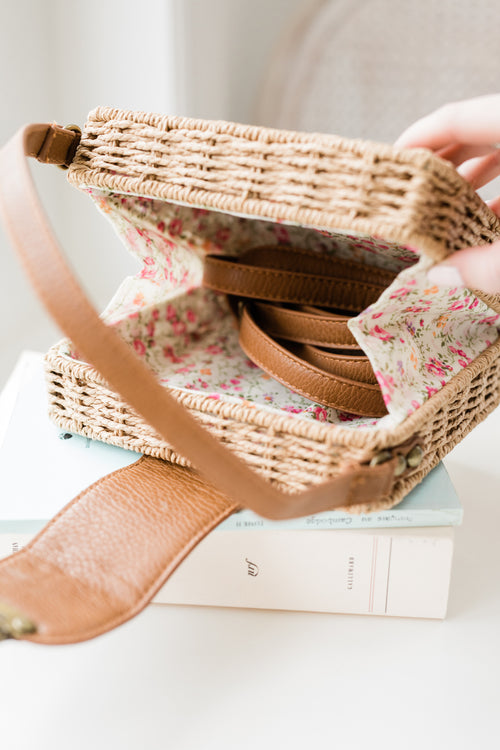 Waverly Wicker Crossbody