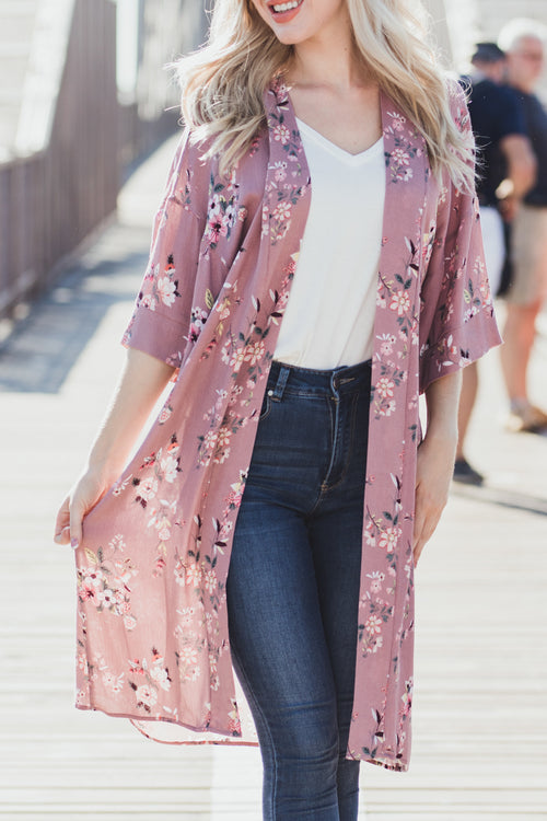 In The Garden Floral Duster