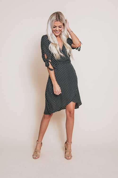 Sweet Jazz Polka Dot Dress *FINAL SALE*