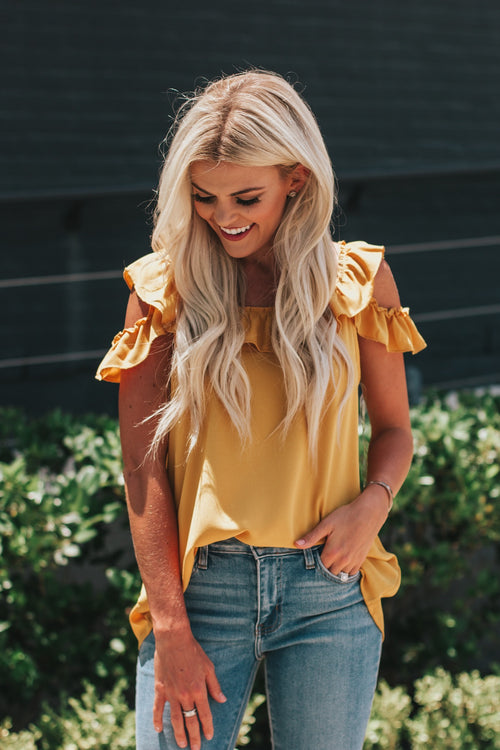 Sunny Daze Top  *FINAL SALE*