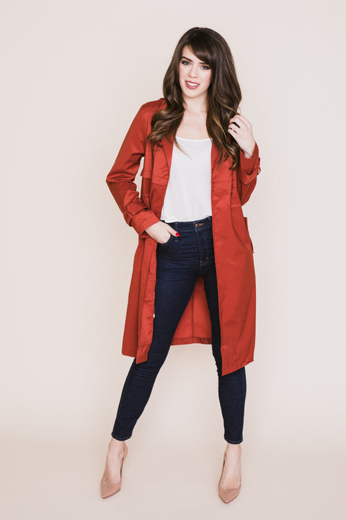 Cherish Trench Coat