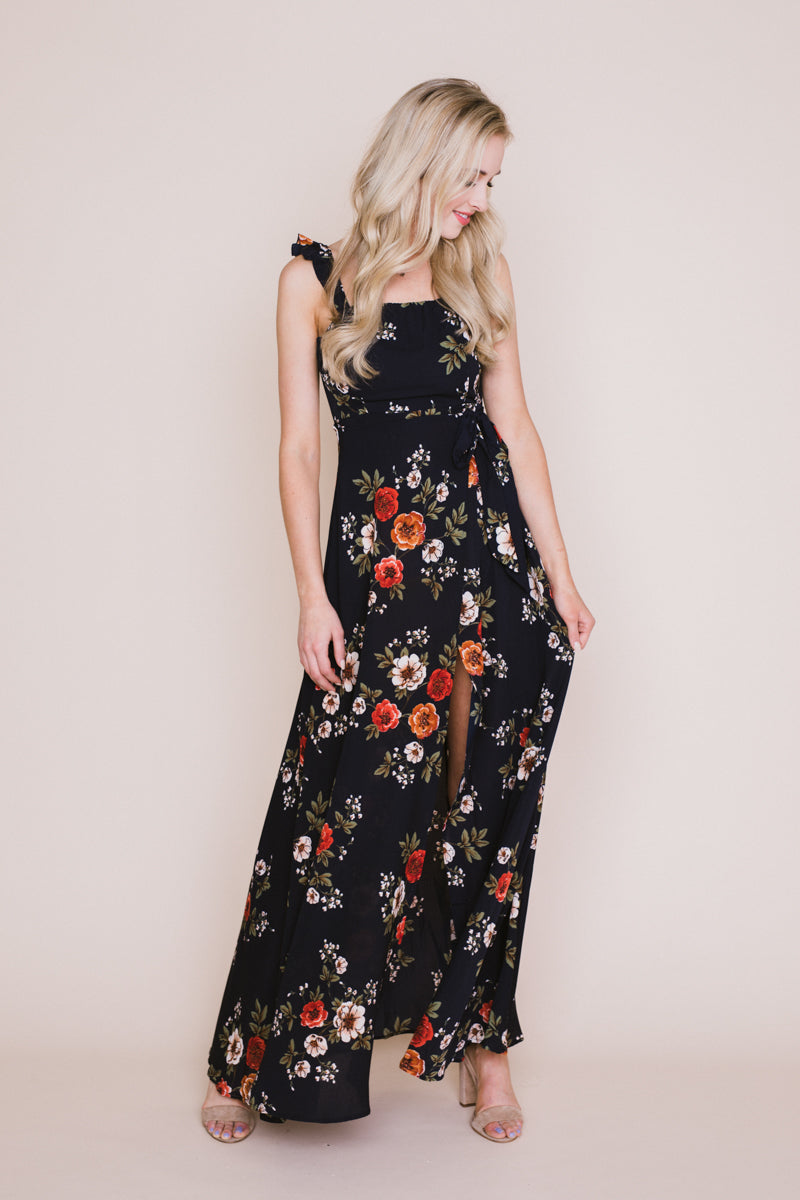 Miranda Floral Off The Shoulder Dress