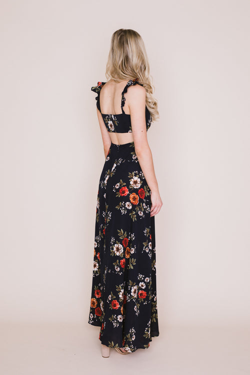 Miranda Floral Off The Shoulder Dress *FINAL SALE*