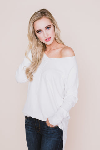 Buttercup Pleated Sleeve Blouse