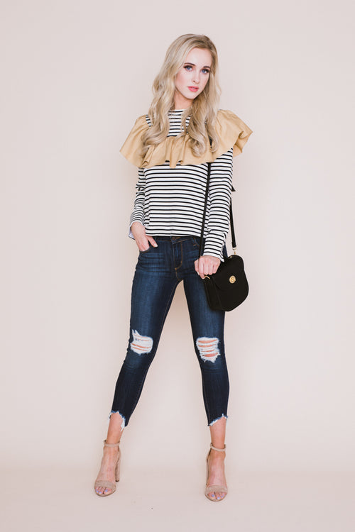 Marie Striped Top