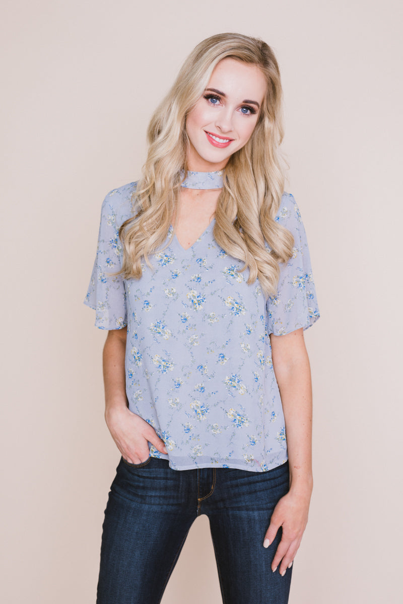 Happiest Days Floral Blouse