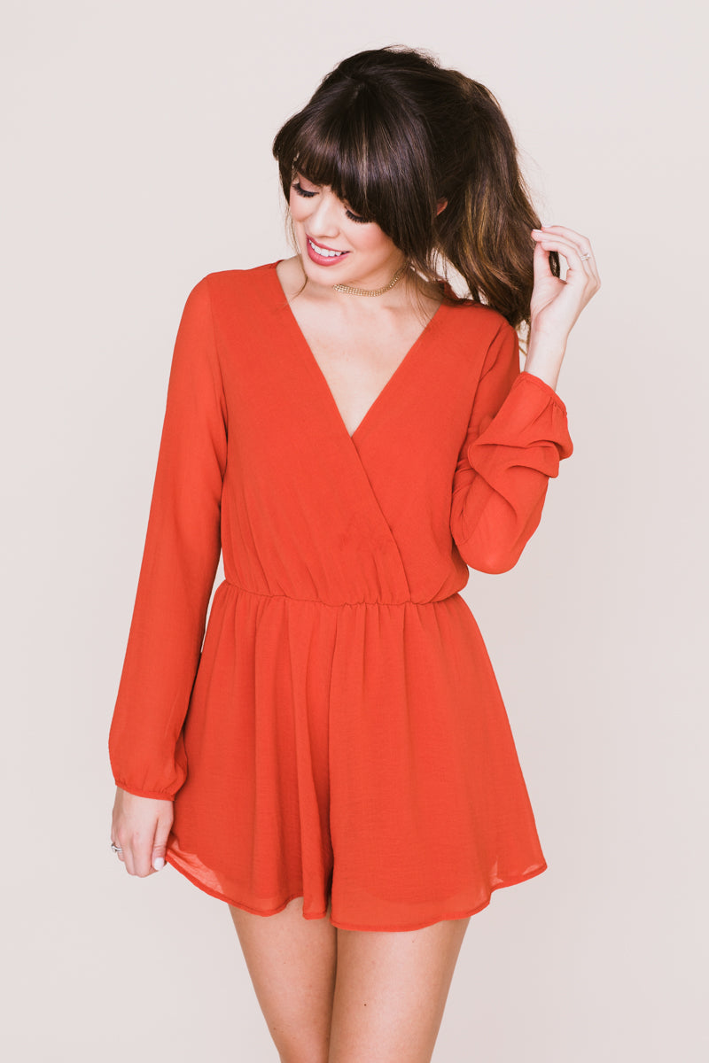 Mid-Autumn Romper *FINAL SALE*