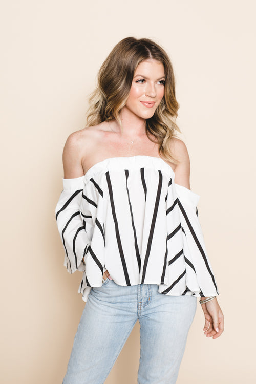 Loving You Is Easy Off The Shoulder Top  *FINAL SALE*