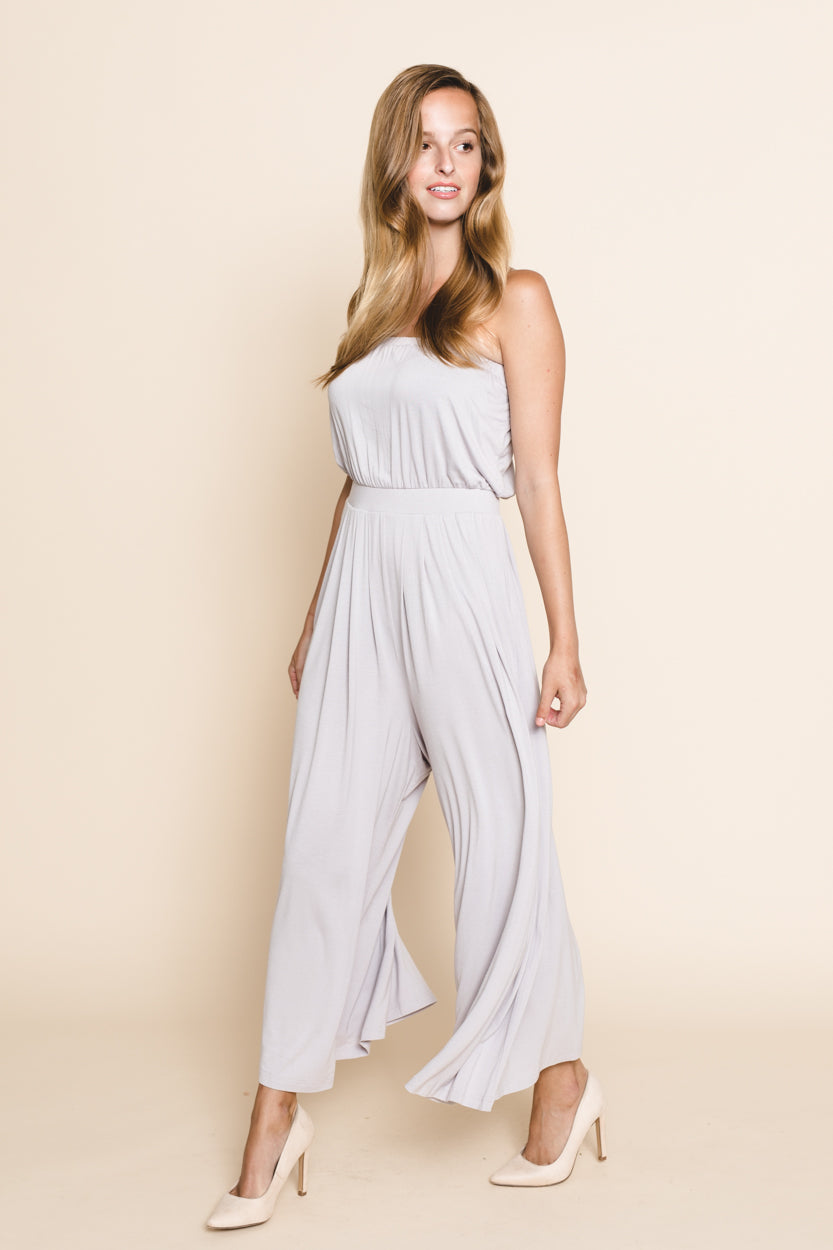 Charisma Strapless Jumpsuit *FINAL SALE*