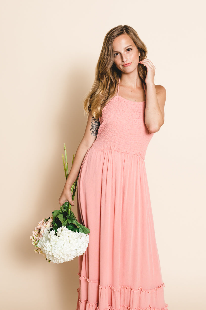 Through The Fields Maxi Dress
