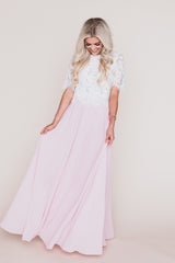 Lavender Fields Lilac Maxi Skirt