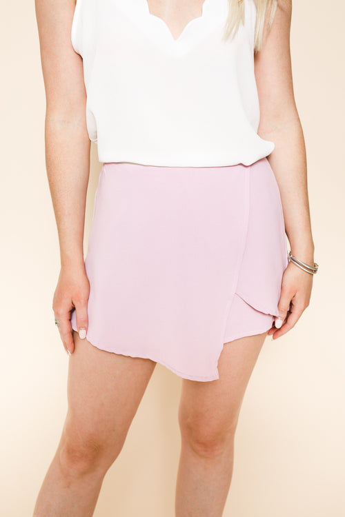 Fall In Line Wrap Shorts *FINAL SALE*