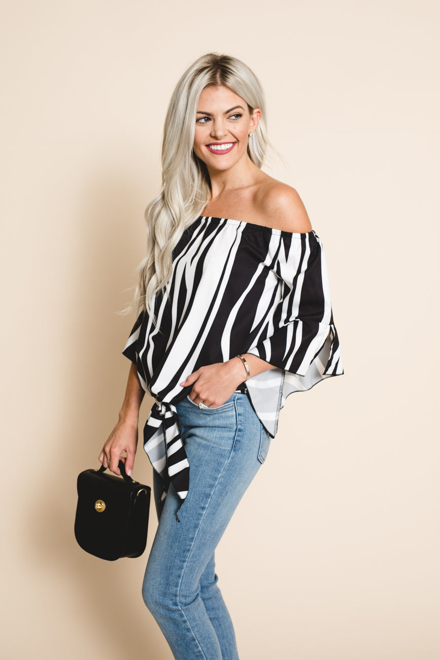 No Doubt Off The Shoulder Top *FINAL SALE*