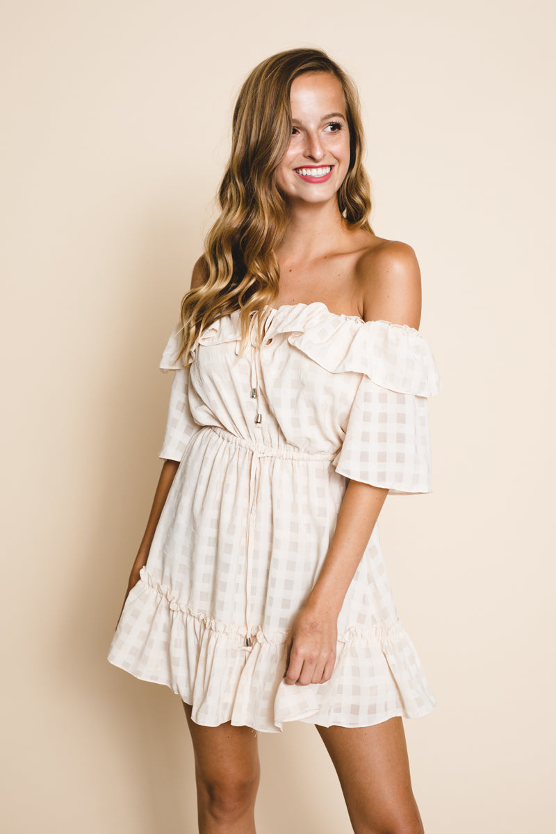 Melbourne Off The Shoulder Dress