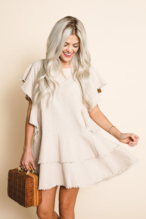 Wallflower Tiered Dress