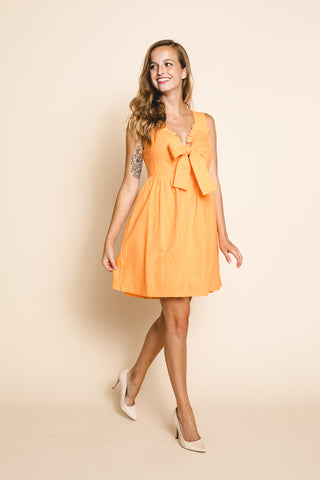 Sunkissed Tie Front Dress  *FINAL SALE*