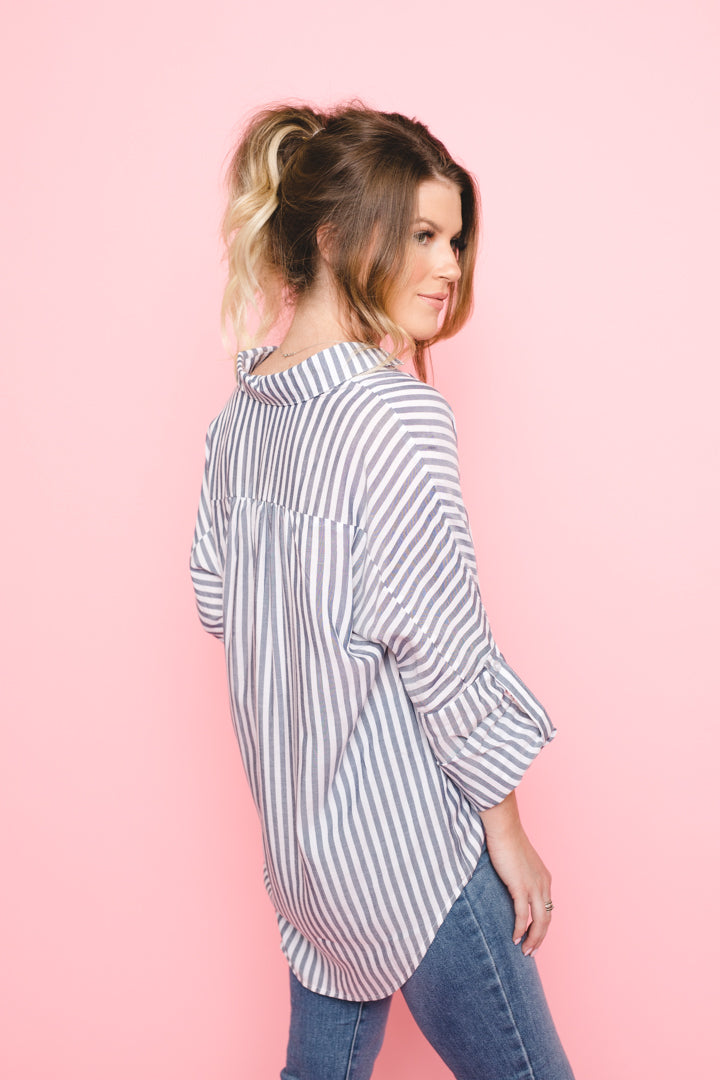 Perfect Striped Blouse