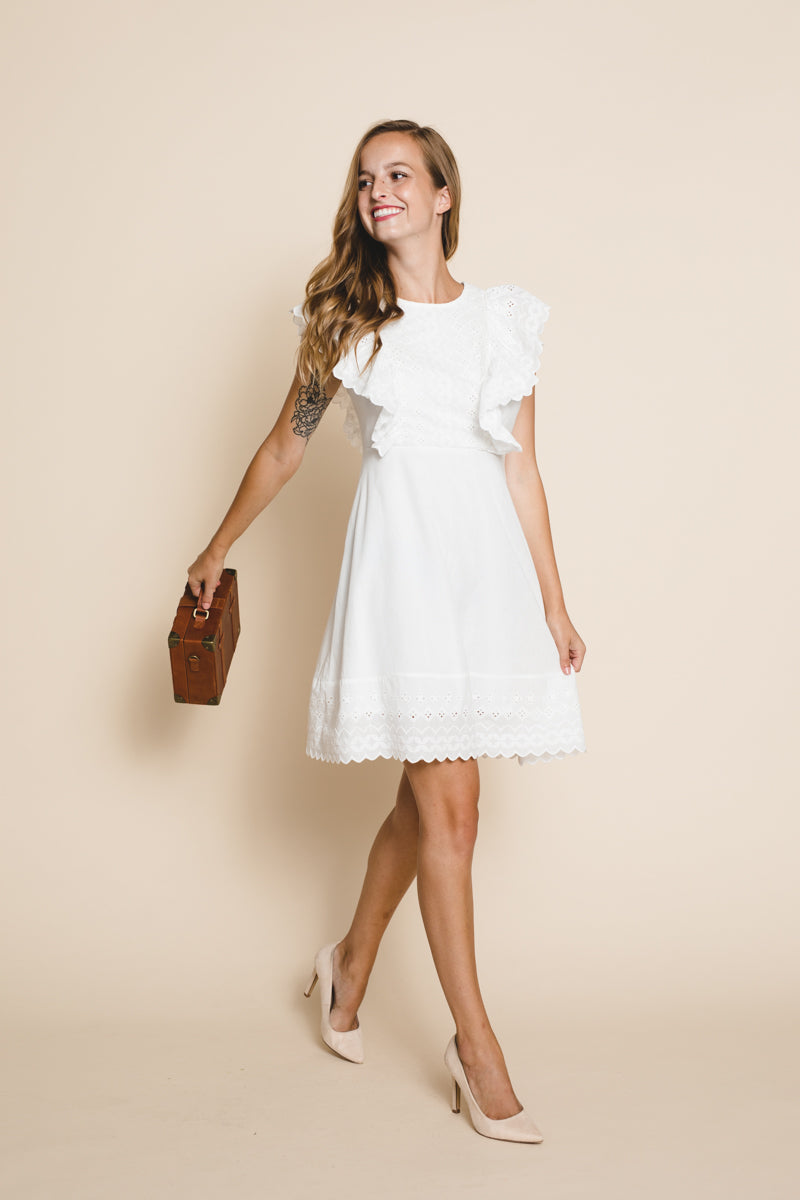 Emma Eyelet Dress *FINAL SALE*
