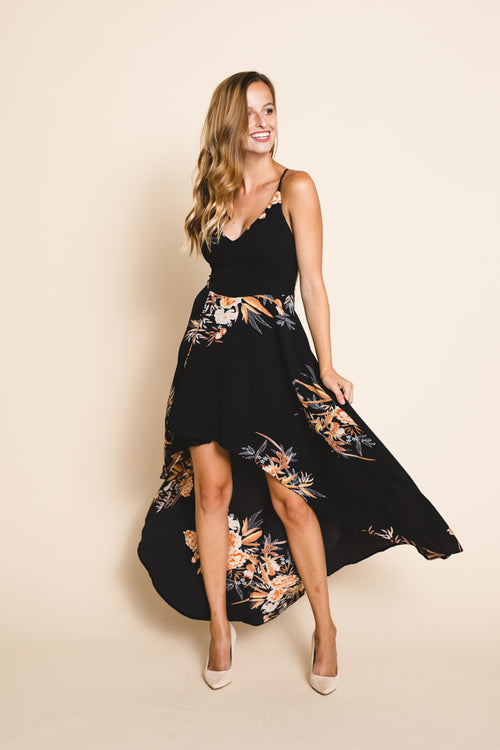 Stuck In Bliss Floral Dress