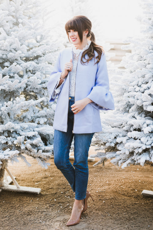 Golightly Dusty Blue Coat