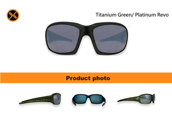green cycling sunglasses