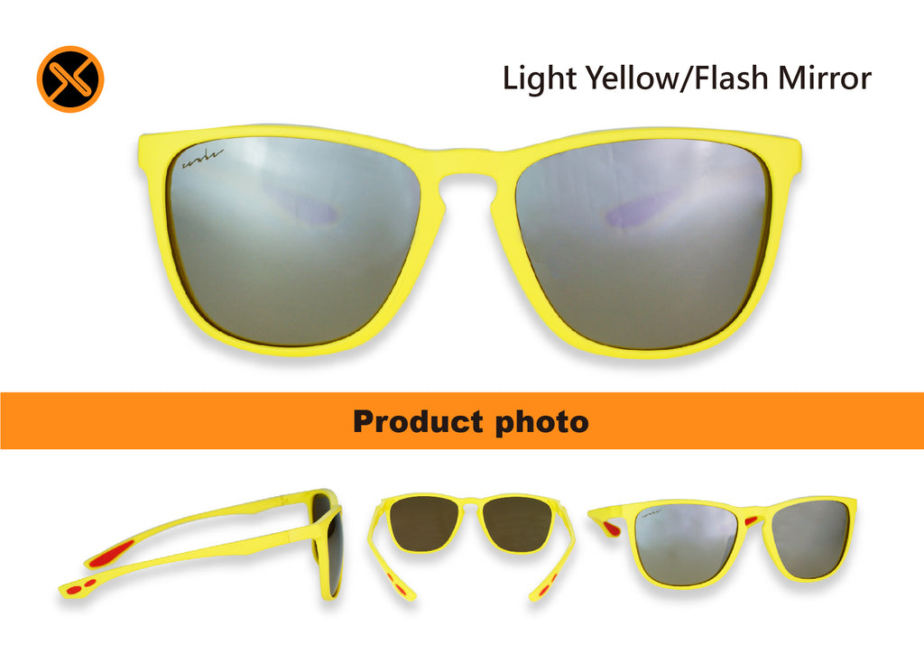 polarized sunglasses flash mirror