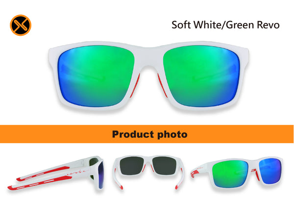 white polarized sungalsses