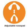 nose adjustable