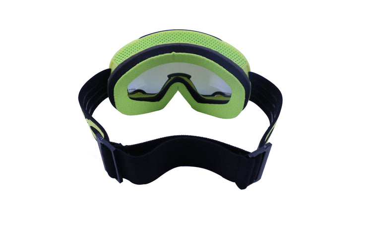 double layered anti-fog ski goggles