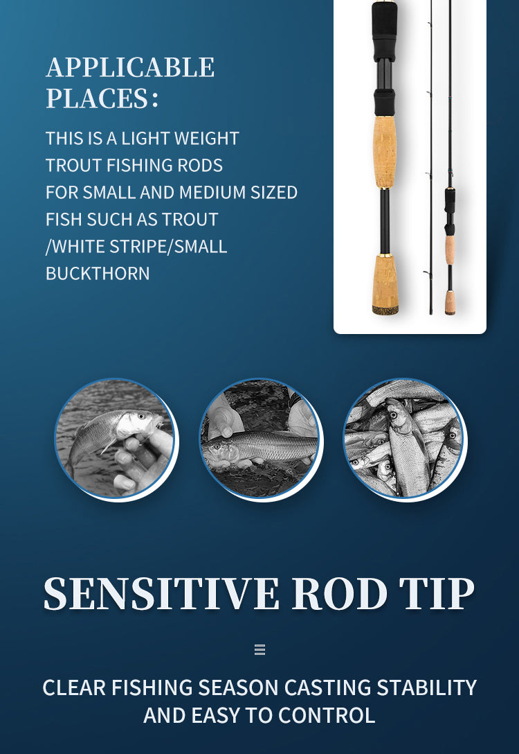 best new freshwater ul action trout fishing rod from goofish