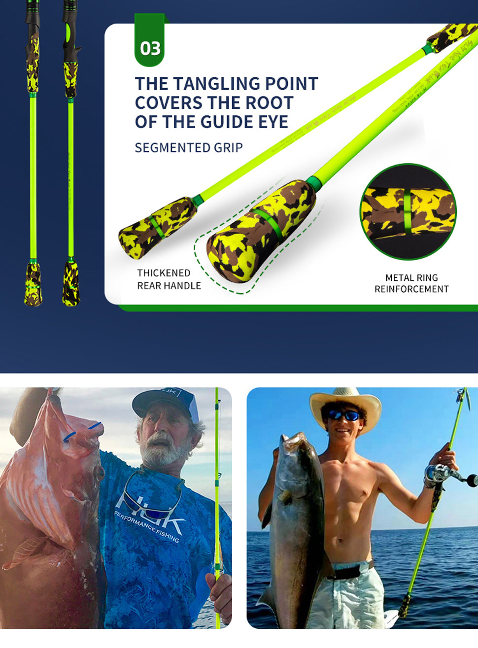 the best jigging rod is from goofish brand solid nano tech blank setting