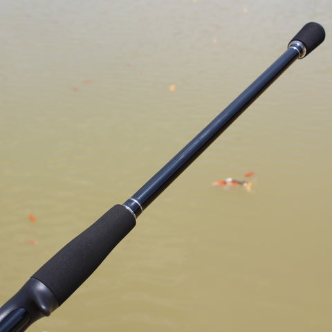 bumping fishing rod
