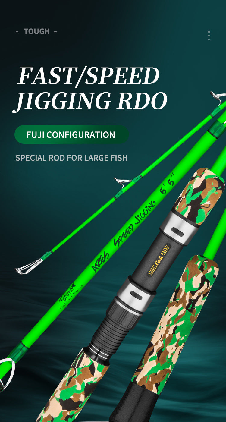 speed jigging rod