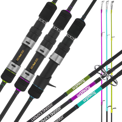 "7'6"" Bumping Catfish Rod IM7 Nano Blank Med Fast Action 190g Weight"