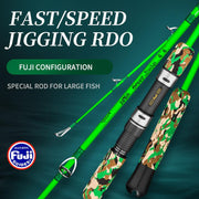 best jigging rod with fuji setting