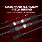 goofish solid nano tech jigging rod
