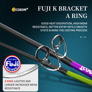 "Goofish 7'6"" Bumping Catfish Rod IM7 Nano Blank Med Fast Action 190g Weight"