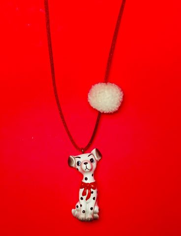 DAKOTA THE DALMATIAN NECKLACE